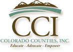 Logo for Colorado Counties, Inc.