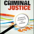 Photo of cover of criminal justice textbook