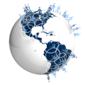 Image of globe and networks