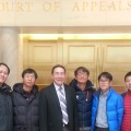 Photo of Students visit judicial center