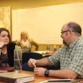 Photo of Kevin Hemminger and Zana Morris