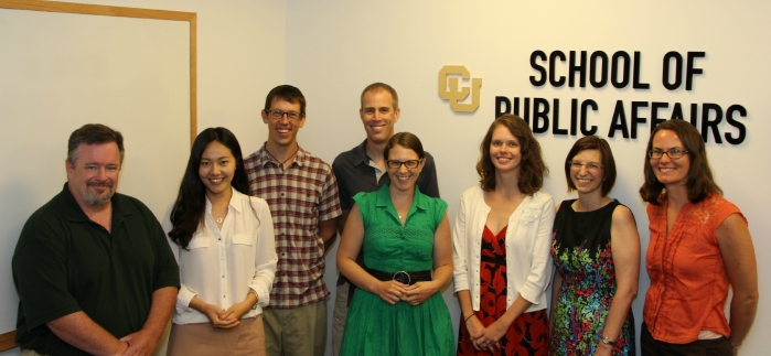 Photo of incoming PhD students Aug. 2015