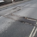 Photo of pothole