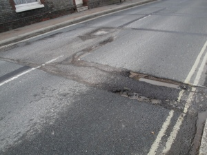 Photo of pothole