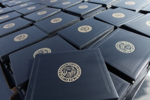 Photo of diploma covers