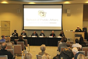 Photo of colloquium panel
