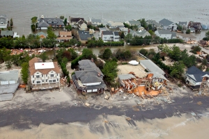 Photo of Hurricane Sandy damage