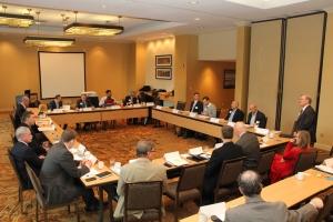 Photo of IMX kickoff meeting