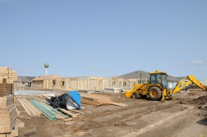 Photo of home construction
