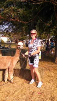 callie and alpaca