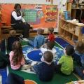 Photo of elementary school teacher