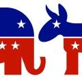 Image of donkey and elephant