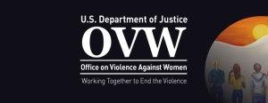 Logo for DOJ OVW