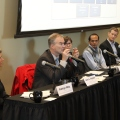 Photo of fracking panel