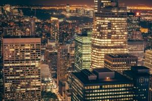 Photo of NYC skyline