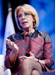 Photo of Betsy DeVos