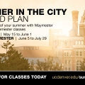 Photo of summer session ad