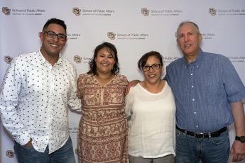 Soukaina Latrache and her family