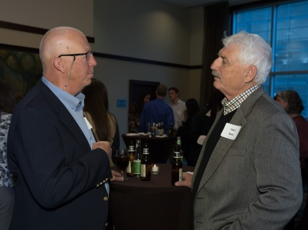 CPM faculty Dallas Everhart and Gary Sears