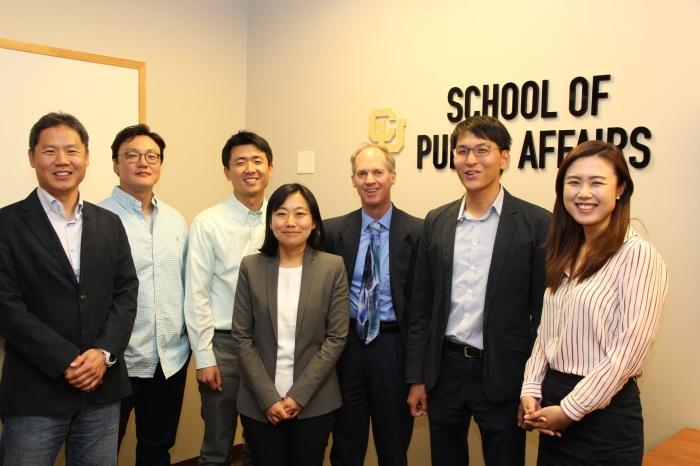 Photo of Korean AMPA students