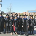 SPA faculty at Commencement
