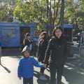 Fang Chen and George on 16th St. Mall